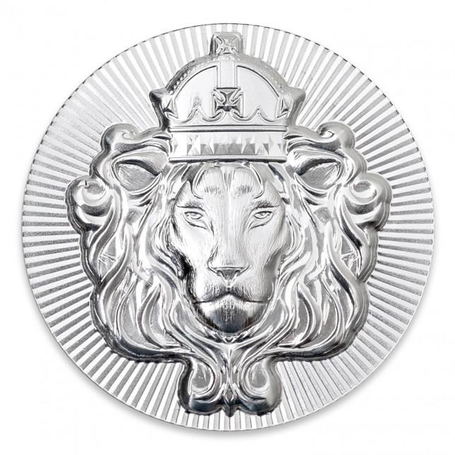 Scottsdale Mint 100 Gram Silver Stacker Round