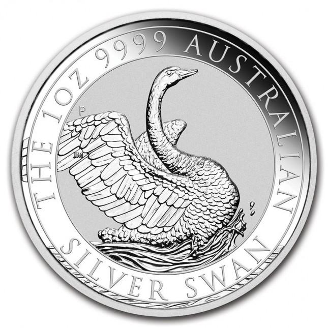 2020 Australia 1 oz Silver Swan (BU)