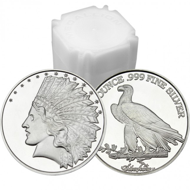 Monument Starter Pack | 10 - 1 oz Silver Rounds @ Spot | DISCOUNT AUTOMATICALLY APPLIED IN CART