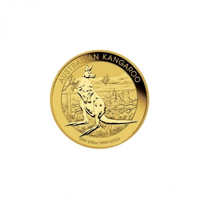 Australia 1/10 Oz Gold Kangaroo