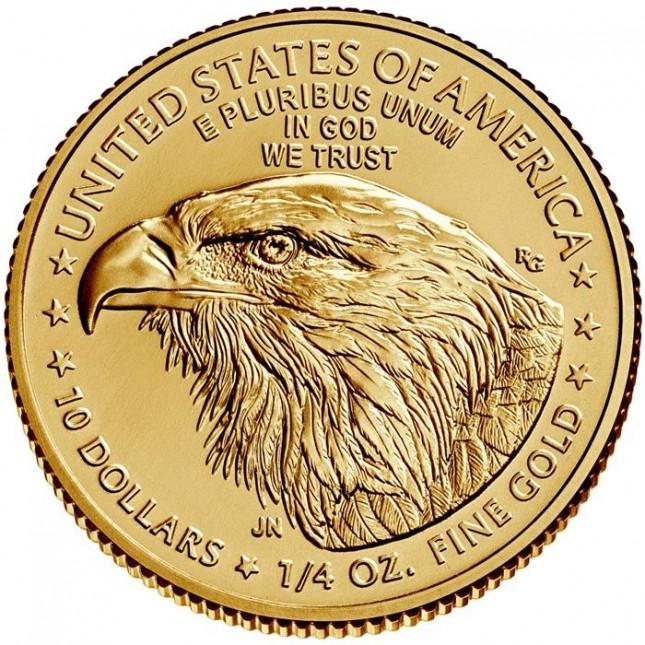 2021 1/4 Oz American Gold Eagle Type 2 (BU)