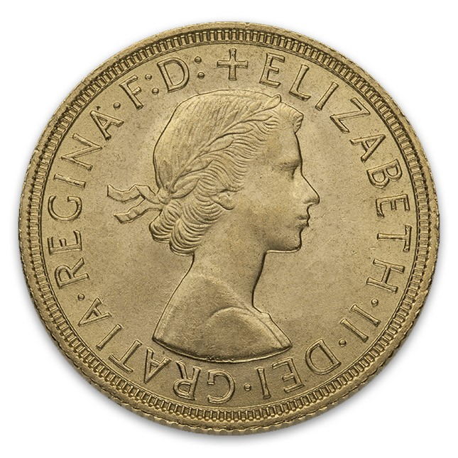 Great Britain Queen Elizabeth Gold Sovereign