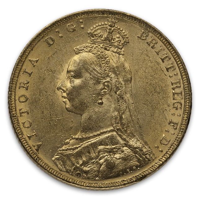 Great Britain Queen Victoria Gold Sovereign
