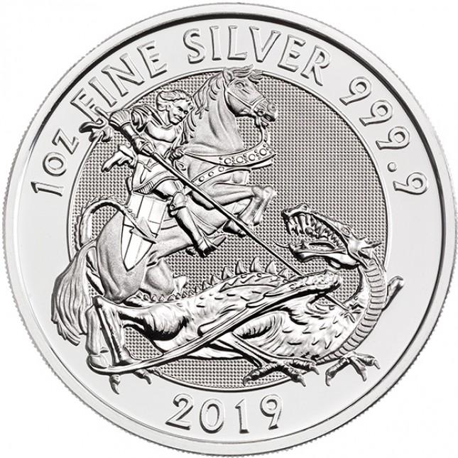 2019 Royal Mint 1 Oz Silver Valiant Coin (BU)