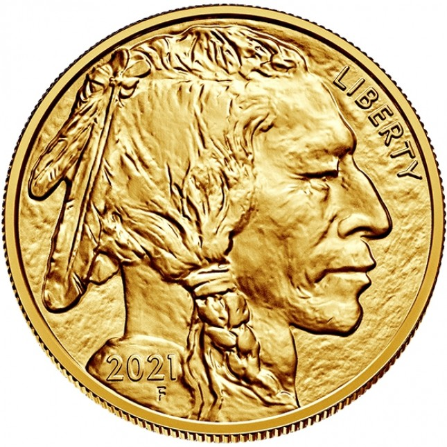 2021 1 oz American Gold Buffalo (BU)