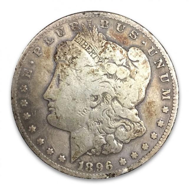 1878-1904 Morgan Silver Dollar Coin Cull Obverse