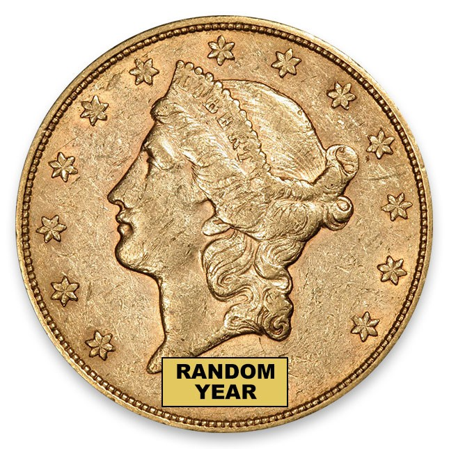 $20 Liberty Gold Double Eagle AU (Random)