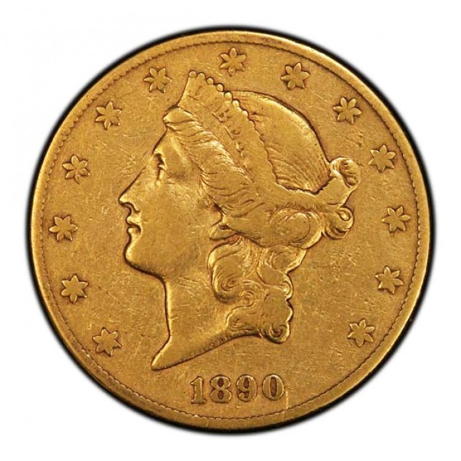 $20 Liberty Double Eagle (LP) Obverse