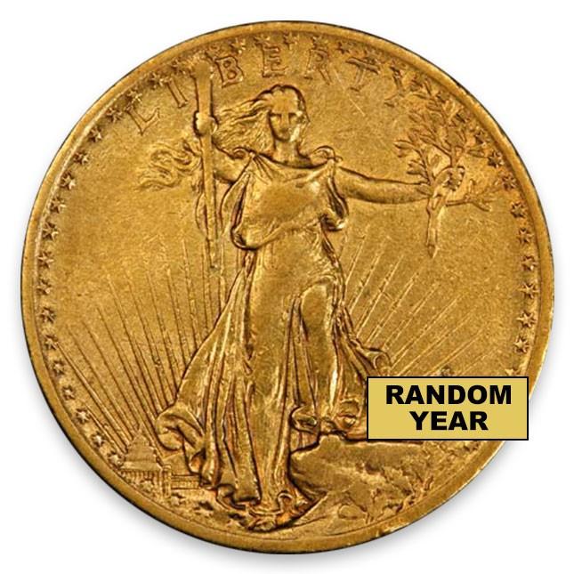 $20 Saint-Gaudens Double Eagle Very Fine (VF)