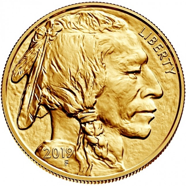 2019 1 oz American Gold Buffalo (BU)