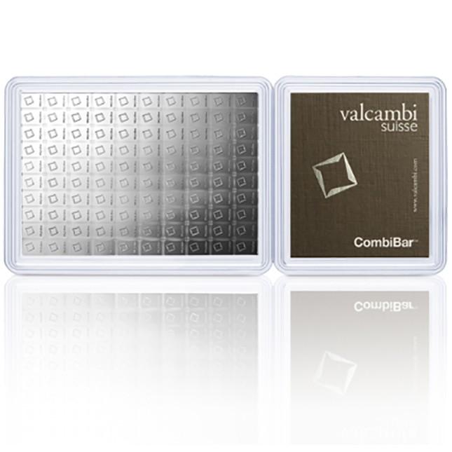 100 Gram Silver Valcambi Divisble CombiBar