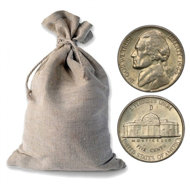 Wartime Nickel ($200 Face Value Bag)