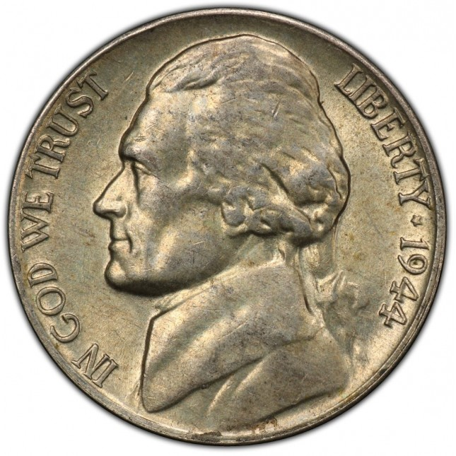 Wartime Nickel ($1 Face Value)
