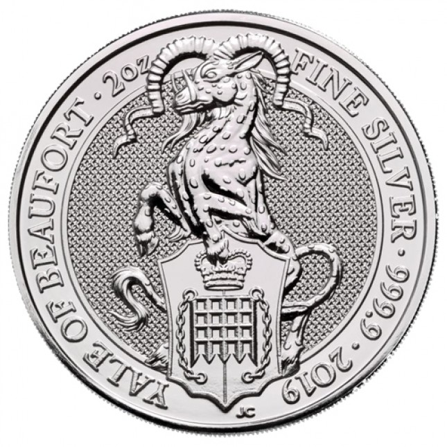 Buy 2019 Uk 2 Oz Silver The Yale Of Beaufort Bu Queen S