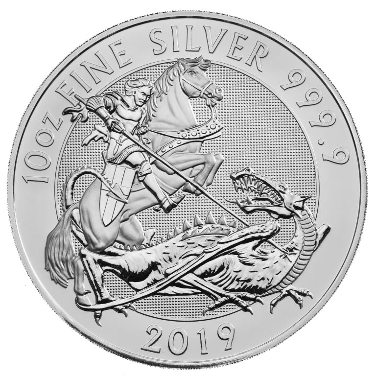 Buy 2019 Royal Mint 10 Oz Silver Valiant Coin Bu
