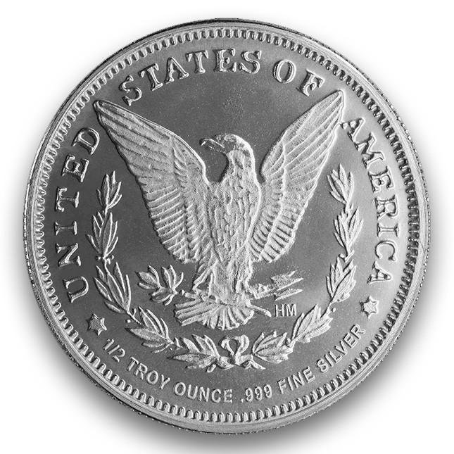 Buy Highland Mint Hm 1 2 Oz Morgan Design Silver Round