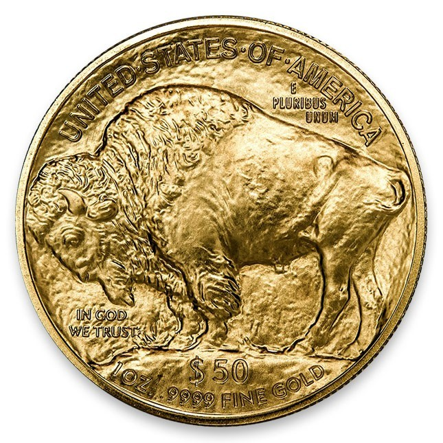Buy Random Date American 1 Oz 24k Gold Buffalo Coin Monument Metals
