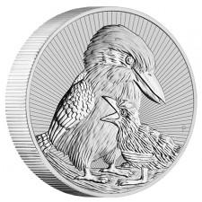 2020 Australia 2 oz Piedfort 'Next Generation Series' Silver Kookaburra (BU)
