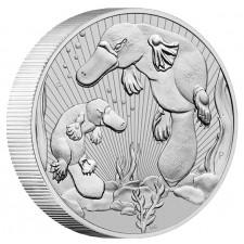 2021 Australia 2 oz Piedfort 'Next Generation Series' Silver Platypus (BU)