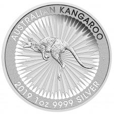 2019 1 Oz Australia Silver Kangaroo (BU)