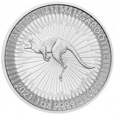 2021 1 Oz Australia Silver Kangaroo (BU)