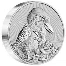2020 Australia 10 oz Piedfort 'Next Generation Series' Silver Kookaburra (BU)