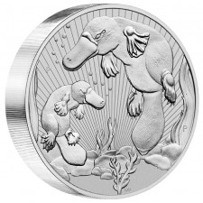 2021 Australia 10 oz Piedfort 'Next Generation Series' Silver Platypus (BU)