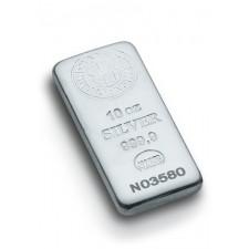 10 oz Nadir Silver Bar (New)
