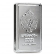 Scottsdale Mint 10 Oz Silver Stacker Bar
