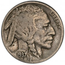 """Full Date"" Buffalo Nickel Average Circulated (1913-1938)"