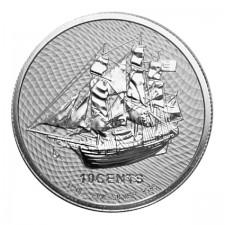2021 Cook Islands 1/10 Oz Silver HMS Bounty Coin (BU)
