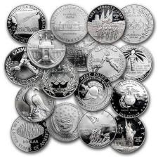 U.S. Mint $1 Silver Commem BU/Proof
