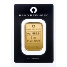 1 oz Rand Refinery Gold Bar (In Assay)