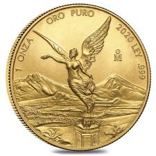 2020 1 Oz Mexican Gold Libertad (BU)