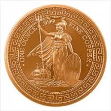 1 oz Copper Round | British Trade Dollar (BU)