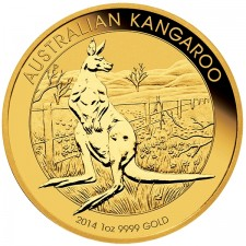 Random Date 1 Oz Australia Gold Kangaroo