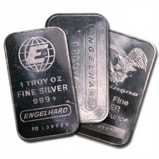 1 Oz Silver Bar - Engelhard (Various Design)