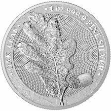 1 oz Silver Round | The Oak Leaf 2019 (BU)