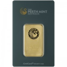 Perth Mint 1 Oz Gold Bar (In Assay)