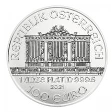 2021 Austria 1 Oz Platinum Philharmonic (BU)