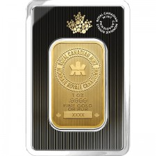 Royal Canadian Mint 1 Oz Gold Bar Front