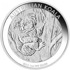 2013 Australia 1 Oz Silver Koala