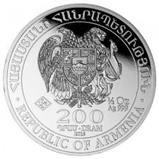 2014 1/2 oz Armenian Silver Noah's Ark Coin (BU)