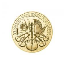 Austrian 1/10 Oz Gold Philharmonic