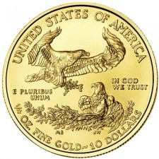 United States 1/4 Oz Gold American Eagle Reverse