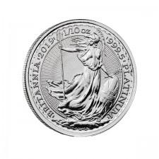 2019 1/10 Oz Great Britain Platinum Britannia (BU)