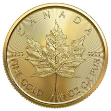 2021 Canada 1/4 Oz Gold Maple Leaf (BU)