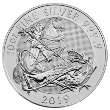 2019 Royal Mint 10 Oz Silver Valiant Coin (BU)