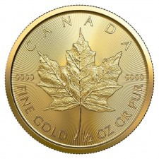 2019 Canada 1/2 Oz Gold Maple Leaf (BU)
