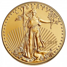 2019 1/10 Oz American Gold Eagle (BU)